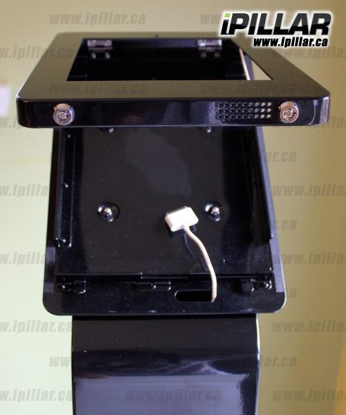 iPillar Locking iPad Freestanding Display Stand Kiosk