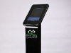 iPillar Locking iPad Freestanding Display Stand Kiosk