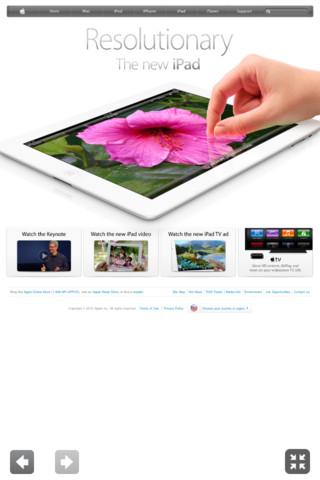 Full Screen App View